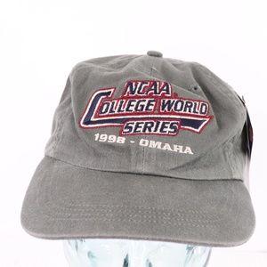 New Vintage NCAA College World Series Baseball Hat